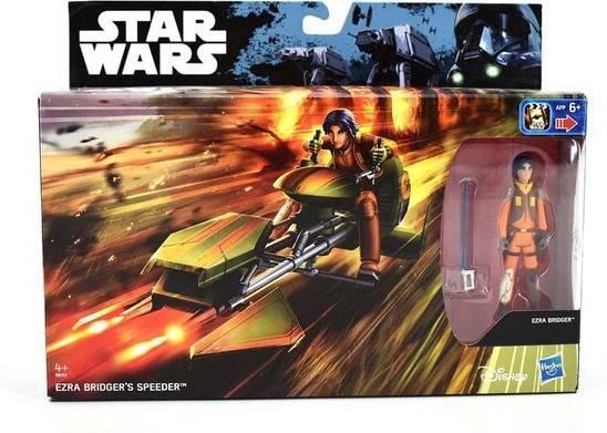 Star Wars Ezra Bridger gyorshajtója Akciófigura 16 x 30cm