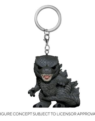 Godzilla Vs Kong Pocket POP! Vinyl Kulcstartó - Godzilla 4 cm