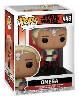 Star Wars: The Bad Batch POP! TV Vinyl Figure Omega 9 cm_fk55505