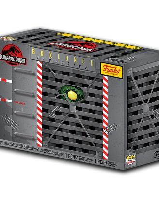 Jurassic Park Funko POP! & Tee Box - Clever Raptor
