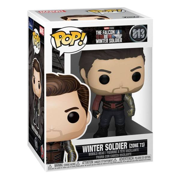 The Falcon and the Winter Soldier POP! Vinyl Figure Winter Soldier Zone 73 9 cm_fk51629