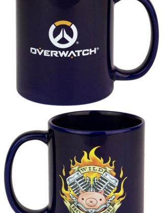 Overwatch bögre - Roadhog