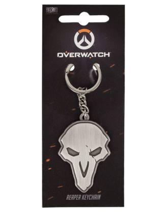 Overwatch - Reaper fém kulcstartó