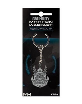 Call of Duty: Modern Warfare Metal / Fém Kulcstartó West Faction
