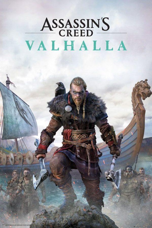 Assassins Creed Valhalla poszter 61 x 91 cm