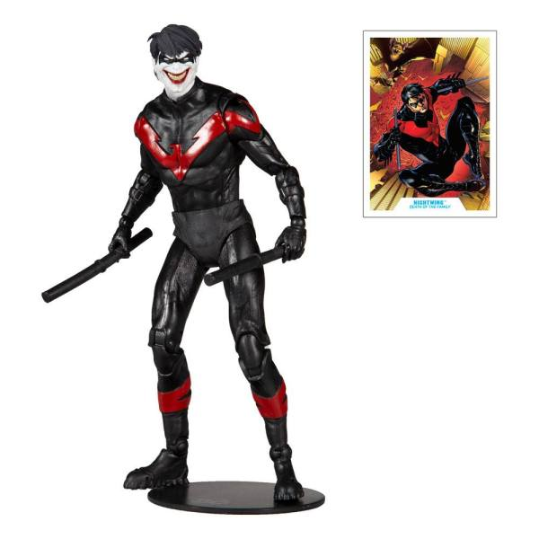 DC Multiverse Akciófigura - Nightwing Joker 18 cm