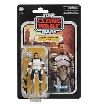 Star Wars The Vintage Collection Clone Commander Wolffe Toy Figure