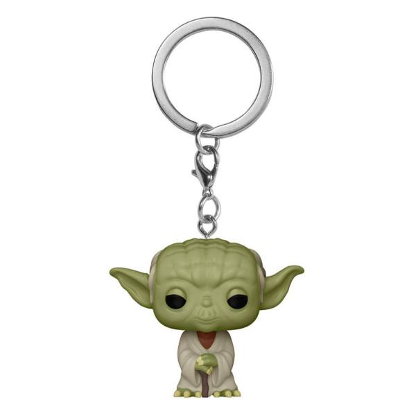 Star Wars Pocket POP! Kulcstartó - Yoda 4 cm
