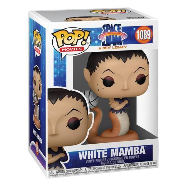 x_fk56230 Space Jam 2 Funko POP! Movies Figurea - White Mamba 9 cm