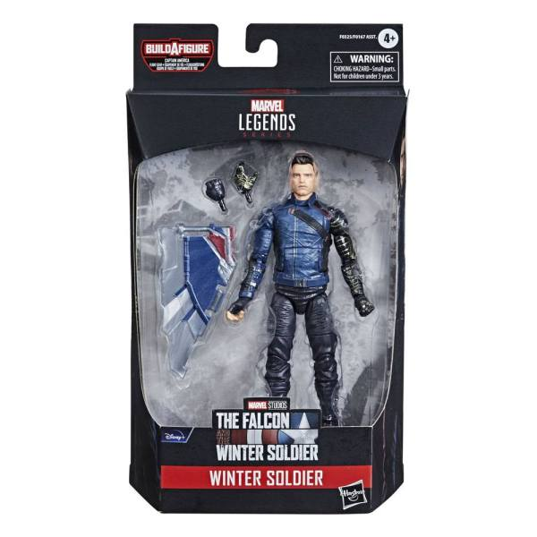 Avengers Disney Plus Marvel Legends Series Akciófigura - Winter Soldier (The Falcon and the Winter Soldier)