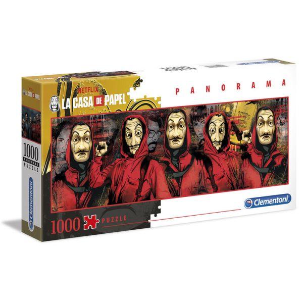 Money Heist Puzzle - Panorama (1000 db-os)