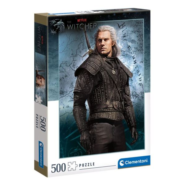 The Witcher Puzzle - Geralt of Rivia (500 db-os)