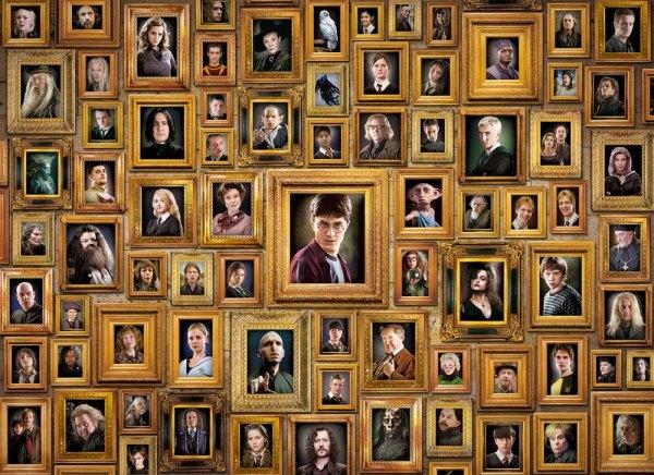 Harry Potter Impossible Puzzle - Portraits (1000 pieces)