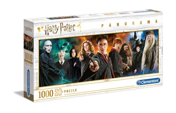 Harry Potter Panorama Puzzle - Characters (1000db)