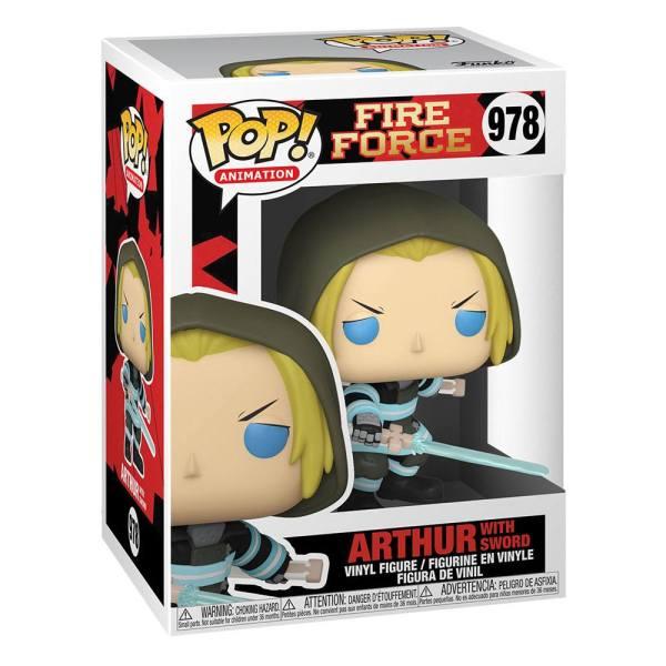 Fire Force POP! Animation Vinyl Figure Arthur w/Sword 9 cm_fk56156