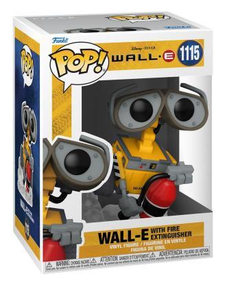 Wall-E POP! Movies Vinyl Figure Wall-E w/Fire Extinguisher 9 cm_fk58558