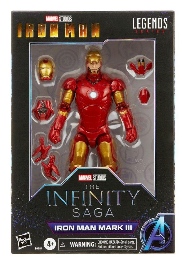 The Infinity Saga Marvel Legends Series Akciófigura - 2021 Iron Man Mark III (Iron Man) 15 cm
