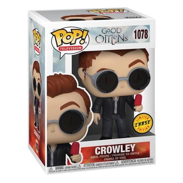Good Omens Funko POP! TV Vinyl Figura - Crowley 9 cm (CHASE)