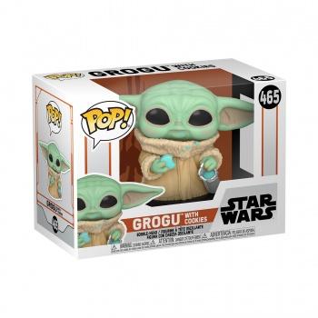 The Mandalorian Funko POP! Star Wars Figura - The Child w/ Cookie 9 cm