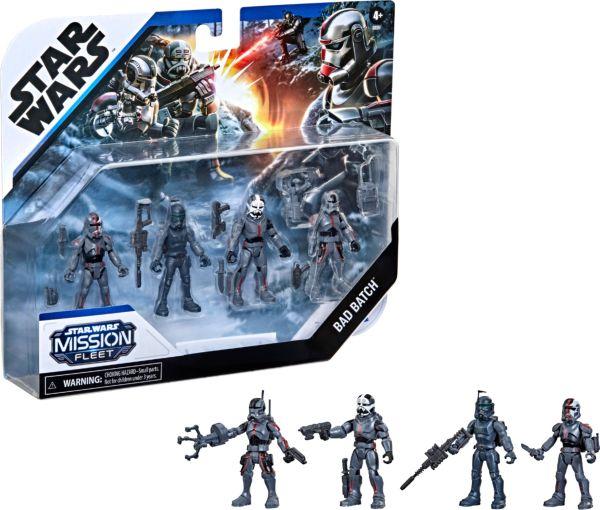 Star Wars THE BAD BATCH: Mission Fleet Clone Commando Clash Pack Akciófigura