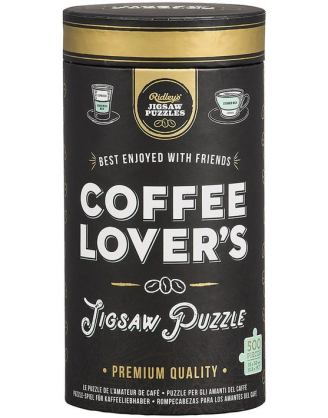 Coffee Lover's 500 Piece Jigsaw Puzzle
