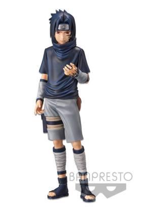 Naruto Shippuden Grandista nero PVC Szobor - Uchiha Sasuke #2 24 cm