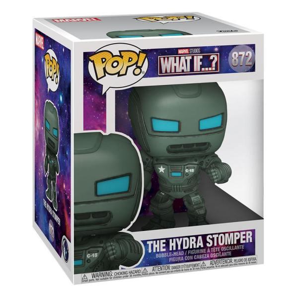 x_fk55813 What If...? Oversized Funko POP! Marvel Vinyl Figura - The Hydra Stomper 15 cm