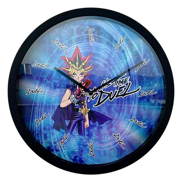 Yu-Gi-Oh! Wall Clock / Falióra - It's Time To Duel