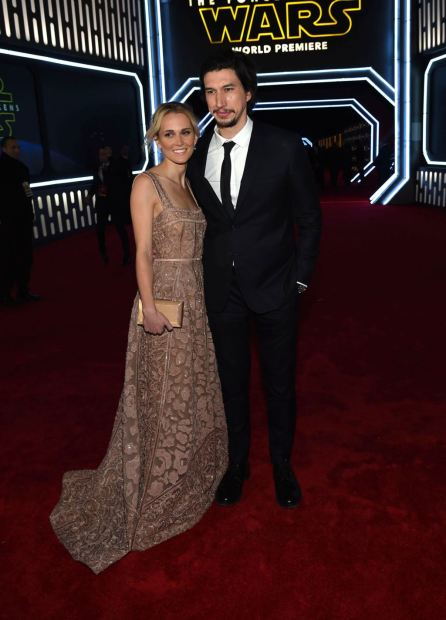 Joanne Tucker and Adam Driver