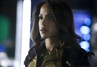 "Arrow -- ""Taken"" -- Image AR415b_0043b.jpg -- Pictured: Megalyn E.K. as Vixen -- Photo: Bettina Strauss/ The CW -- © 2016 The CW Network, LLC. All Rights Reserved."