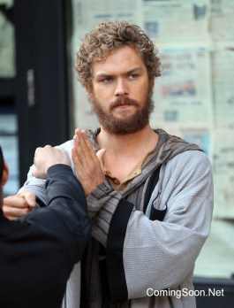 "NEW YORK, NY - APRIL 29: Finn Jones in the title role of Marvel? Netflix's ""Iron Fist"" on April 29, 2016 in New York City. (Photo by Steve Sands/GC Images)"