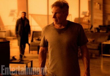 Blade Runner 2049 (2017) L-R: Ryan Gosling as K and Harrison Ford as Rick Deckard