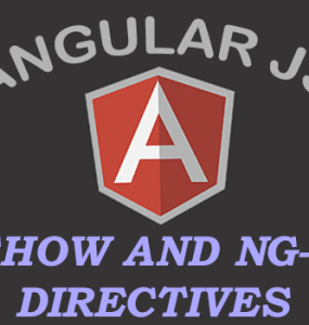 AngularJS ng-show and ng-hide Directives