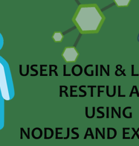 User Login Logout RESTful API Using Nodejs And Express 4