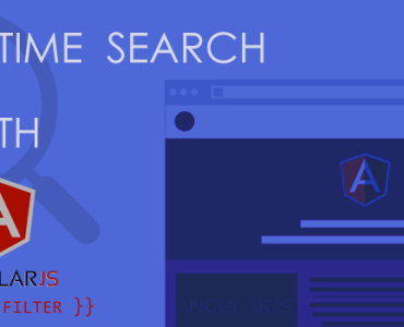 Real-Time Search With AngularJS Custom Filter