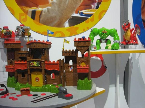Equipment Mattel Displays Toy Fair