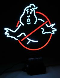 Equipment: Marvel Comics and Ghostbusters Neon Signs are