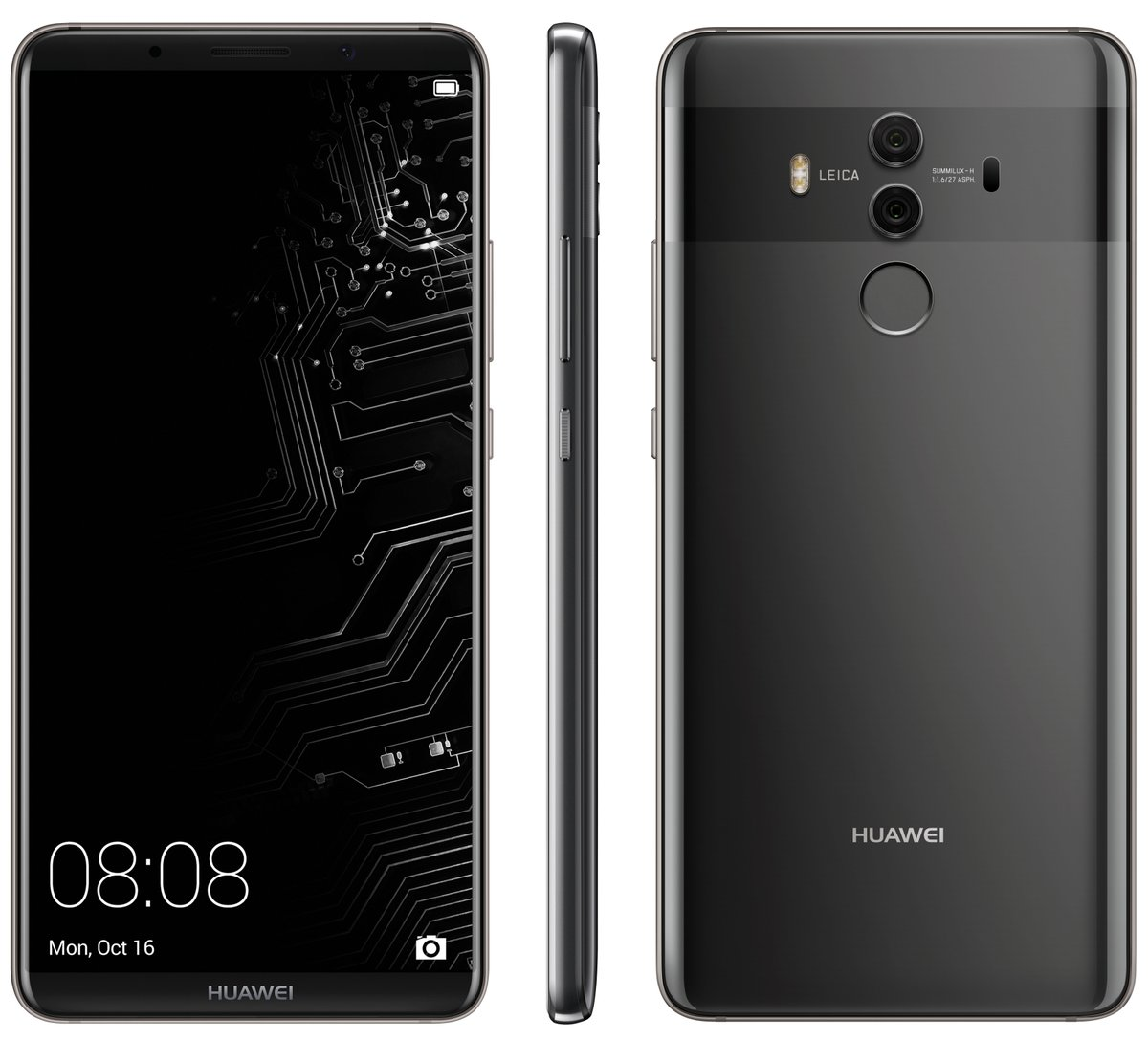 The Huawei Mate 10 Pro leaked by Evan Blass on the 12th of October 2017
