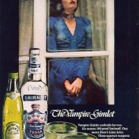 Happy Halloween: Vampire Gimlet Recipe