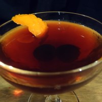 Modified Manhattan Cocktail Recipe