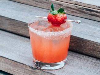 Spiced Strawberry Margarita
