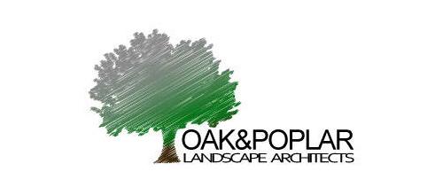 eye catching tree logos