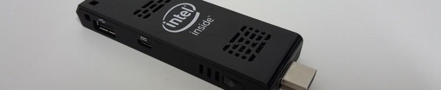 Intel Compute Stick Slider