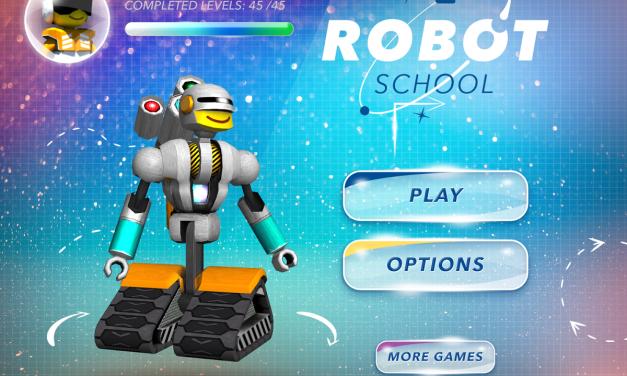 Robot School – aplikacja, przy której mózg mi paruje.