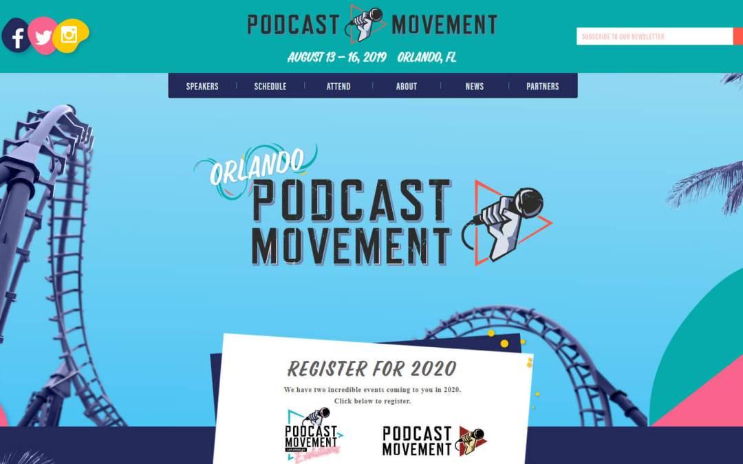 "S4E33 – Podcast Movement 2019 – ""Navel Gazing Hug Attack"""