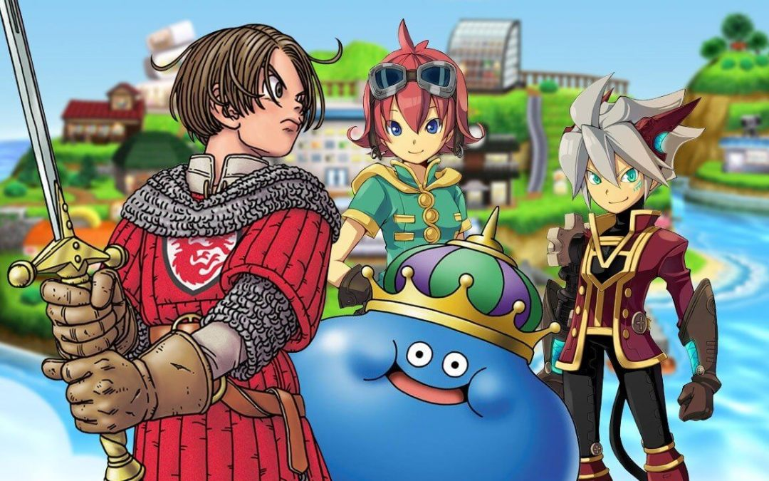 "12 – Dragon Quest News and Announcements – ""Moonwalk right out the door"""