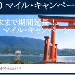 ANA/JAL修行のお供に。DELTAニッポン 500 マイル・キャンペーンを忘れずに。