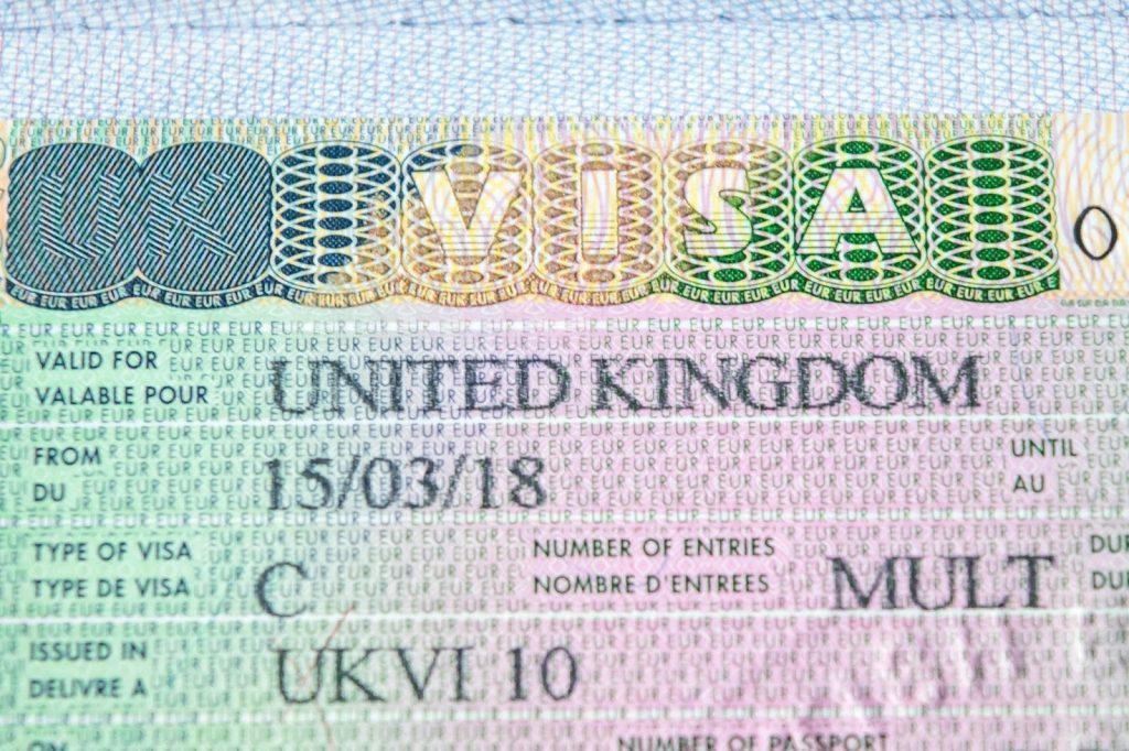 Ұлыбританияға виза 2019 жылы Ұлыбритания үшін