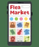 smartphone_app_fleamarket-1-568x683 【画像】ラクマがメルカリに勝てない理由、一瞬でわかる