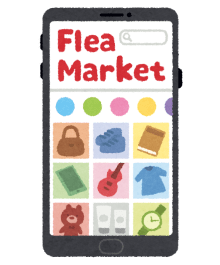 smartphone_app_fleamarket-1-480x578 【フリマ】ニートなんやがメルカリで月30万稼ぎたい